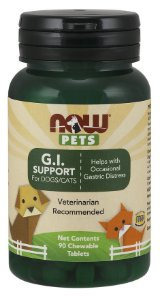 G.I. Support  para cães e gatos NOW PETS 90 Chewables