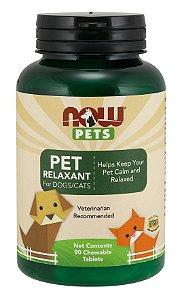 Pet Relaxant para cães e gatos NOW PETS 90 Chewables
