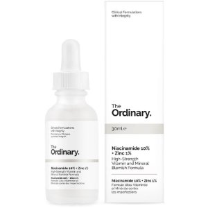 Niacinamide 10% + Zinc 1% High Strength Vitamin and Mineral Blemish The Ordinary 30ml