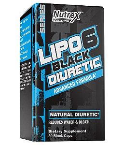 LIPO-6 BLACK DIURETIC 80 black cápsulas