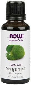 óleo Essencial Bergamot NOW 30 ml
