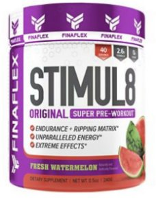 Stimul8 Super Pre-Workout - Fresh Watermelon (40 Servings)