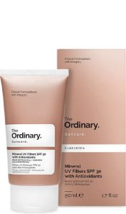 Mineral UV Filters SPF 30 with Antioxidants The Ordinary 50ml