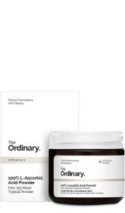 100% L-Ascorbic Acid em pó The Ordinary 20g