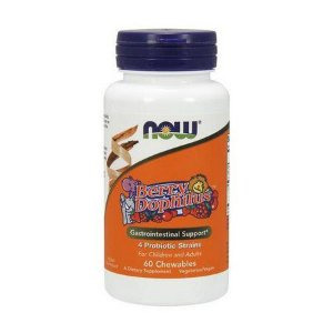 Berry Dophilus 60 Chewables NOW Foods