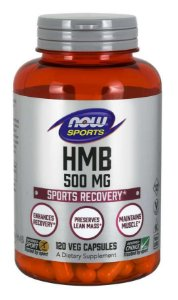 HMB 500mg 120 veg capsules NOW Foods