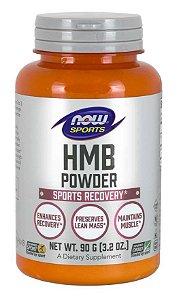 HMB Powder em pó 90g 3.2oz NOW Foods