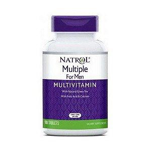 Multivitaminico para homem Multiple 90 tablets NATROL