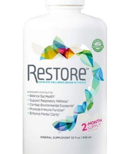 RESTORE COMPLETE WELL-BEING BEGINS IN THE GUT 237 ml