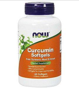 Curcumin Softgels 60 softgels NOW Foods