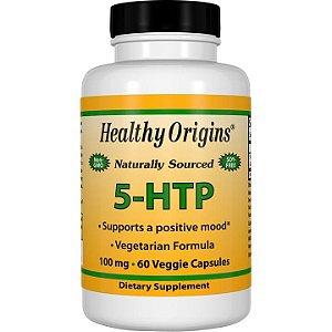 5 HTP 100mg 60 veggie capsules HEALTHY Origins