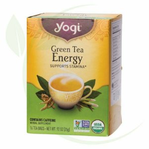 Yogi Green Tea Energy 16 tea bags