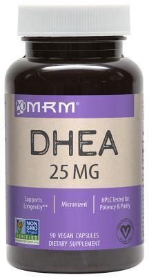 DHEA 25mg  MRM  90 cápsulas