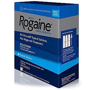 Rogaine Extra Strengh - Tratamento Capilar para Homens - 5% Minoxidil - 2oz
