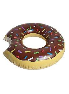 Pool Float - Bóia Gigante - Donut de Chocolate