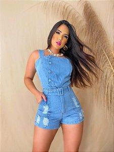 Macaquinho Jeans - Lorena