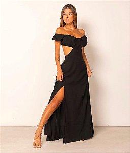 Vestido longo Maria Joana