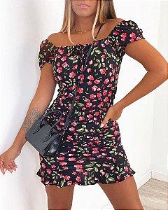 Vestido lastex - Alessandra