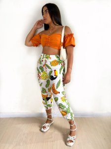 Cropped ombro a ombro - Jaque