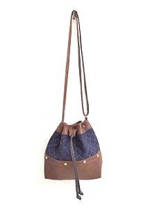 Bolsa saco - Jeans