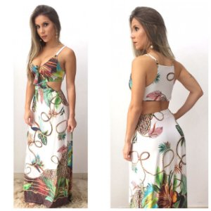 Vestido longo - Giovanna