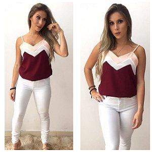 Calça Jeans branca - Cintura alta