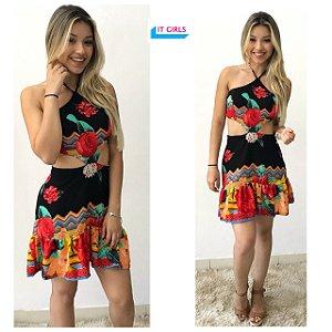 Vestido Thalia - Preto