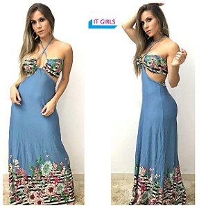 Vestido longo - Nicole