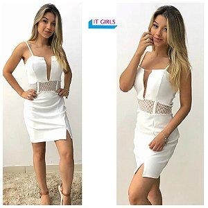 Vestido branco - Glam