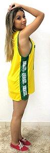 Regata vestido do Brasil