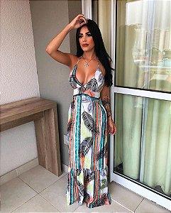 Vestido Longo - Miami Power