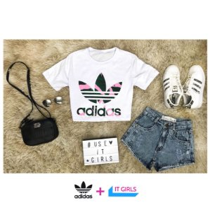 Cropped Adidas Suit