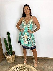 Vestido floral - Luiza