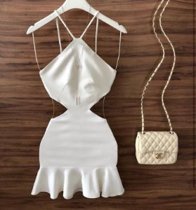 Vestido branco - Maya
