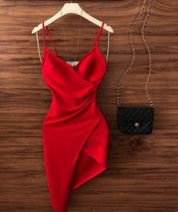 Vestido Júlia - Red (Vermelho)