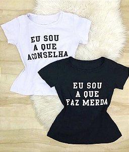Conjunto T - Shirts Amigas