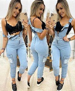 Macacão Jeans - Jude