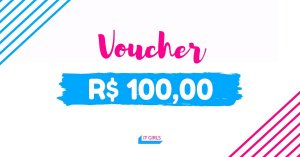 Vale compras no valor de R$ 100,00