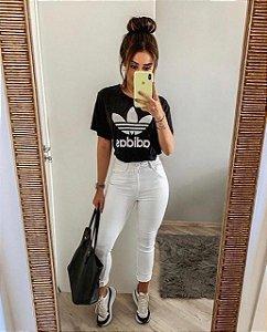 T- Shirt Adidas Preta