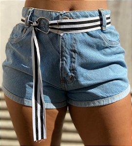 Shorts Jeans com cinto - Ipanema