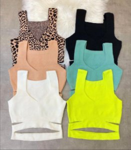 Cropped tricot modal - Recortes