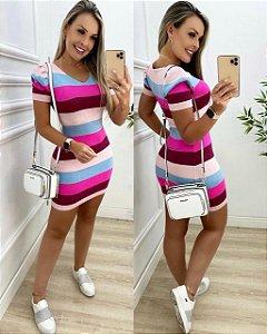 Vestido tricot modal - Analice II