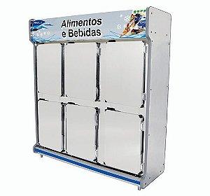 Borracha para Expositor / Freezer / Balcao - POLOFRIO