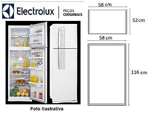 Jogo De Borracha Geladeira Electrolux Df42 Dw42x Encaixe