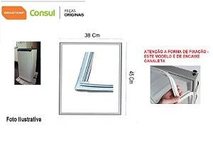 Borracha Consul Frigobar Compacto 50l Crc05 38x45 Encaixe