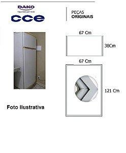 Jogo Borracha De Geladeira Cce 430 / C43 / Dako 450