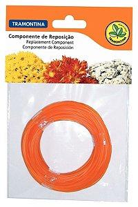 Fio de nylon para roçadeiras RE1000 e RC26 - 2,4 mm, 12 metros