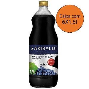 Suco de Uva - 6 garrafas de 1,5L