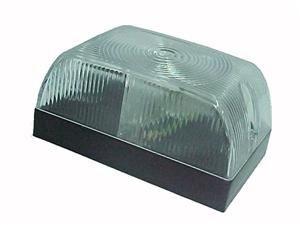 Lanterna Lateral Retangular com Lente Arredondada Cristal - Carreta - 45186