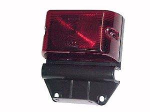 Lanterna Lateral Vermelha com Suporte - Carreta-CAM/CARRETAS - 45194